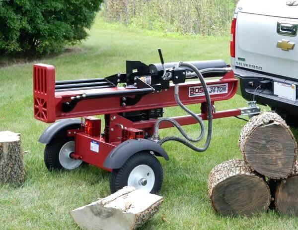 industrial log splitter