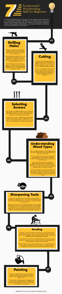 7 Fundamental Woodworking Skills for Beginners